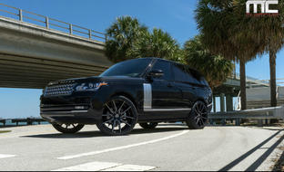 "Range Rover Supercharged on 24"" Gravity"
