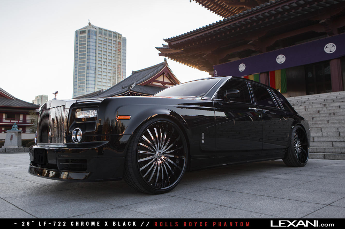 Rolls Royce Phantom on LF-722