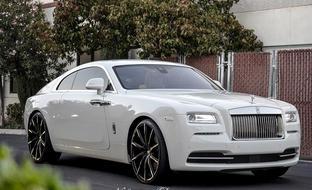 Rolls Royce Wraith on CSS-15