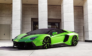 Lambo Aventador on LZ-759 Custom Finish