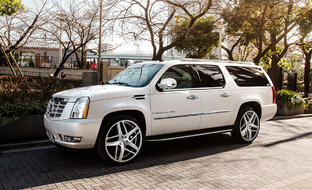 Cadillac Escalade on Bavaria