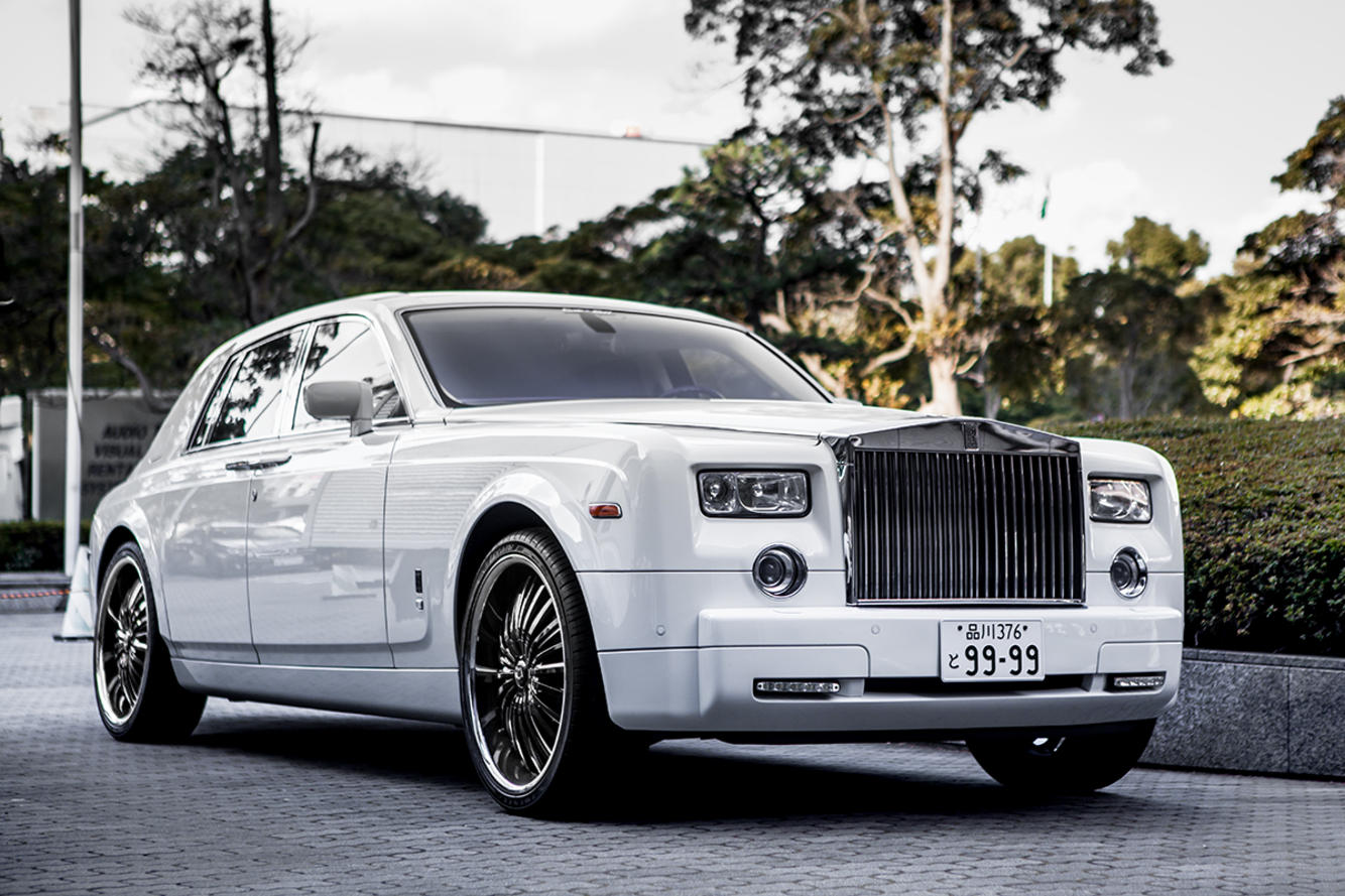 Rolls Royce Phantom on Royal
