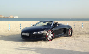 Custom LS-717 on the 2013 Audi R8.